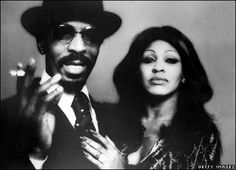 Young Tina Turner with Ike