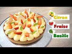 Tarte Citron Fraise & Basilic   PastryFreak