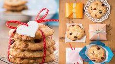 Rezept Schoko-Cookies mit Macadamia-Nüssen und Cranberries