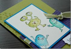 make a monster stampin up - Google Search