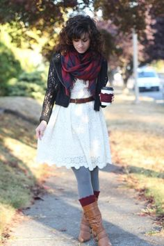 How to wear the tartan scarf - Mode - Trend - Style Today