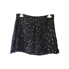 Pre-owned Comptoir Des Cotonniers Skirts ($69) ❤ liked on Polyvore featuring skirts, polka dot skirt, comptoir des cotonniers and dot skirt