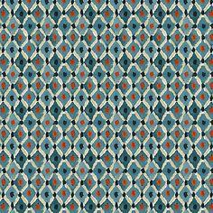 Lydia Indigo Fabric by the Yard | Ballard Designs