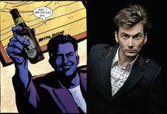 La Marvel ha annunciato che il decimo dottore, ovvero David Tennant farà parte del cast dello show Netflix,A.K.A. Jessica Jones - http://c4comic.it/2015/01/30/a-k-a-jessica-jones-david-tennant-sara-luomo-porpora/