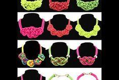 Los collares grandes y llamativos han sido uno de los complementos más vistos últimamente, no se si conocéis estos. Yo los he encontrado por Internet y no los he visto en tiendas.