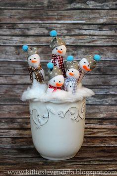 Kifli és levendula: téli dekoráció