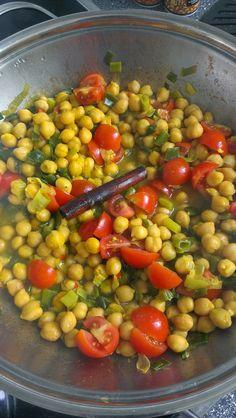 Sinahs Kichererbsen-Curry kommt ganz ohne Currypulver aus