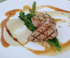Sofitel DC ICI Urban Bistro, Washington, DC. Seared Tuna with Fennel Puree.