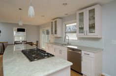 After kitchen/dining Madre Perola Quartzite
