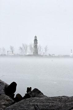 *Foggy Lighthouse - Buffalo, New York