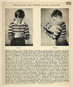Instrucciones sobre lo que un niño debe hacer si tiene la desgracia de leer cualquier cosa, por Julio Cortázar.