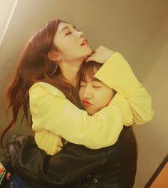 Eunji and namjoo