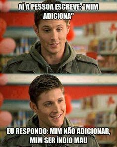 Shared by 白夜叉. Find images and videos about supernatural, Jensen Ackles and dean winchester on We Heart It - the app to get lost in what you love. Dean Winchester, Winchester Brothers, Jensen Ackles, Jared And Jensen, Misha Collins, Smallville, Destiel, Kerr Smith, Supernatural Fandom