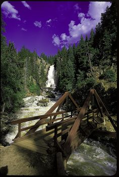 Fish Creek Falls by Visit Colorado, via Flickr