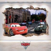 🥇 Vinilos Rapunzel Disney Enredados 3D Disney Cars, Rapunzel Disney, Vehicles, Decorate Apartment, Frames, Decorating Bedrooms, Decorate Walls, Wall Decals, Hardwood Floors