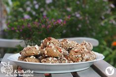Kuchařka ze Svatojánu: SUŠENKY S MANDLEMI Cereal, Breakfast, Fit, Morning Coffee, Shape, Breakfast Cereal, Corn Flakes