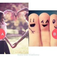 Which seems more like a best friend thing? Click here to vote @ http://getwishboneapp.com/share/3682790