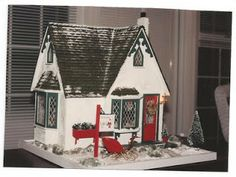 Nancye's Miniatures: Storybook Cottage