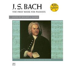 Bach First Book for Pianists Book / CD. A valuable introcuction to the keyboard works of Bach for early-intermediate pianists. $15.00
