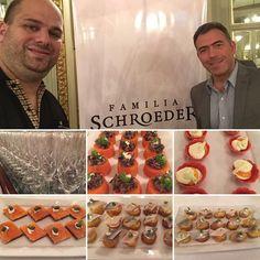 Noche de Espumantes y Vinos de @familiaschroeder