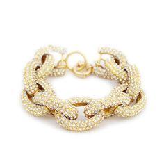 Pave Link Bracelet (Pre-Order)