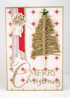 Kerstkaarten maak je natuurlijk zelf! Prachtige inspiratie ideetjes en mooie voorbeelden voor een feestelijke kerst! - Zelfmaak ideetjes