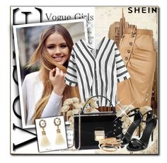 """Shein 5/10"" by sanela1209 ❤ liked on Polyvore featuring BasicGrey"