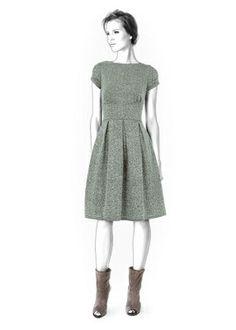 4324 PDF Kleid nähen Muster - Frauk, personalisierte für Ihre benutzerdefinierte Größe