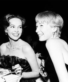 Two of my favourite actress Leslie Caron and Shirley Maclaine.