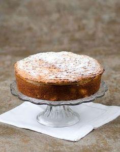 Gâteau crousti moelleux aux poires et aux amandes
