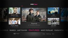 BBC iPlayer on TV