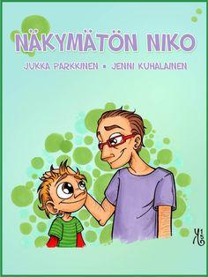 Niko, ikä siinä viiden kieppeillä, on utelias ja ehtiväinen pikkupoika. Eräänä päivänä hän päättää kokeilla päiväkodin Veeran tuomaa näkymättömyyspulveria. Vaan kuinkas sitten kävikään? Jukka Parkkisen iltasadun taitava kuvitusjälki on Jenni Kuhalaisen käsialaa. Speech Therapy, Fairy Tales, Education, School, Fictional Characters, Koti, Mindfulness, Gardening, Speech Pathology