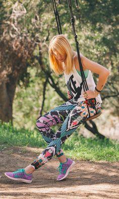 The Nike LOCO4EVA tights. #nikewomen #training #limitededition