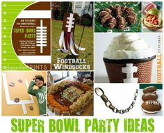 Super Bowl party ideas...perhaps someday in my lifetime we can wish this for the Vikings!