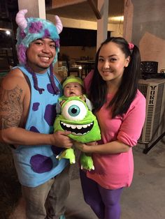 family halloween costumes monsters inc costumes - Monsters Inc Baby Halloween Costumes