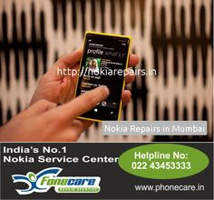 Fone-Care is an excellent service center with regard to  Nokia Cell phone  in Bandra and in addition all accross Mumbai. Simply Dial on 9773261925