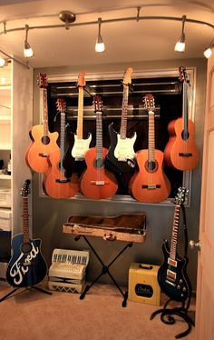 Guitar Display - created by Dean Wix