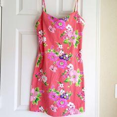 """Moda Dress NWOT Never worn sundress from Moda International. Size Medium. Measures: Length 27"""" from neckline, chest 17"""" (front), waist 16"""" (front). Moda International Dresses Mini"""
