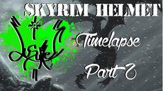 """Skyrim Helmet"" timelapse (Part 2)"