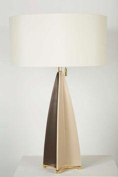 Unique Pair of Gerald Thurston Table Lamps