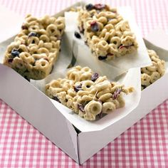 breakfast cereal recipes from Martha