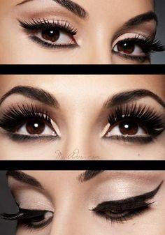 58b3f258881 No Eyeliner Makeup, How To Apply Eyeliner, Eye Makeup Remover, Black  Eyeliner,