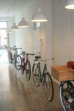 Stilrad bike shop, Berlin - bikes as museum pieces