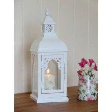 Medium Size White Lantern €14.95 www.dressmyhome.ie