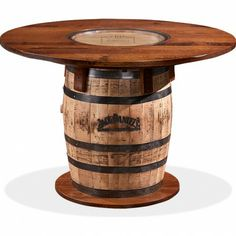 GALLERY FURNITURE USA WHISKEY BARREL PUB TABLE | Gallery Furniture - Houston, TX