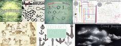 Free Brushes Issue No. Gimp Brushes, Free Brushes, Photoshop Brushes, Free Digital Scrapbooking, Free Photoshop, Free Graphics, Free Things, Business Marketing, Ecommerce