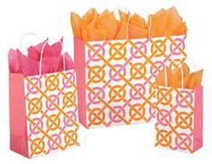 Chic Link  paper shopping bags at macpapersupply.com