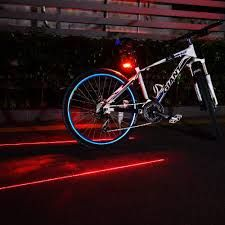 COB LED Bicycle Bike Light Front Rear Tail Helmet Flashlight Lamp 6 Modes AAA US