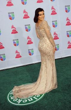 MISS: Nelly Furtado usually has a unique style, but somehow it was lost tonight. Photo: Getty Images