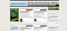 libroacademico.com web realizada en 2009 con Multigestor Boarding Pass, Science, Literatura, Libros, Musica